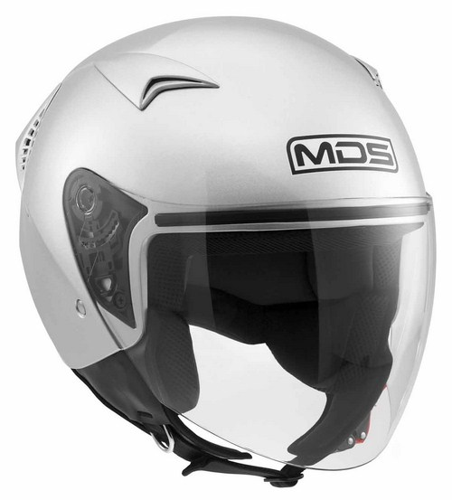Mds by Agv G240 Mono jet helmet silver