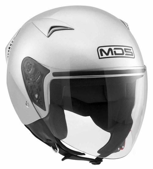 Casco moto jet Mds by Agv G240 Mono silver