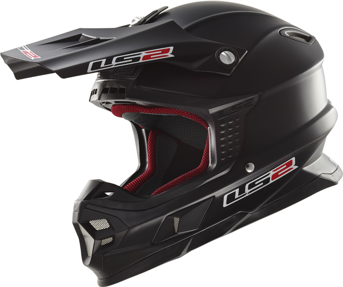 Ls2 MX456 Light cross helmet matte Black