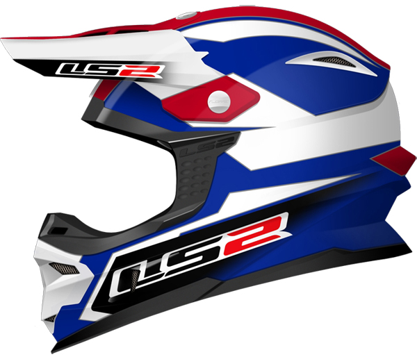 Cross helmet LS2 MX456 Tuareg Blue