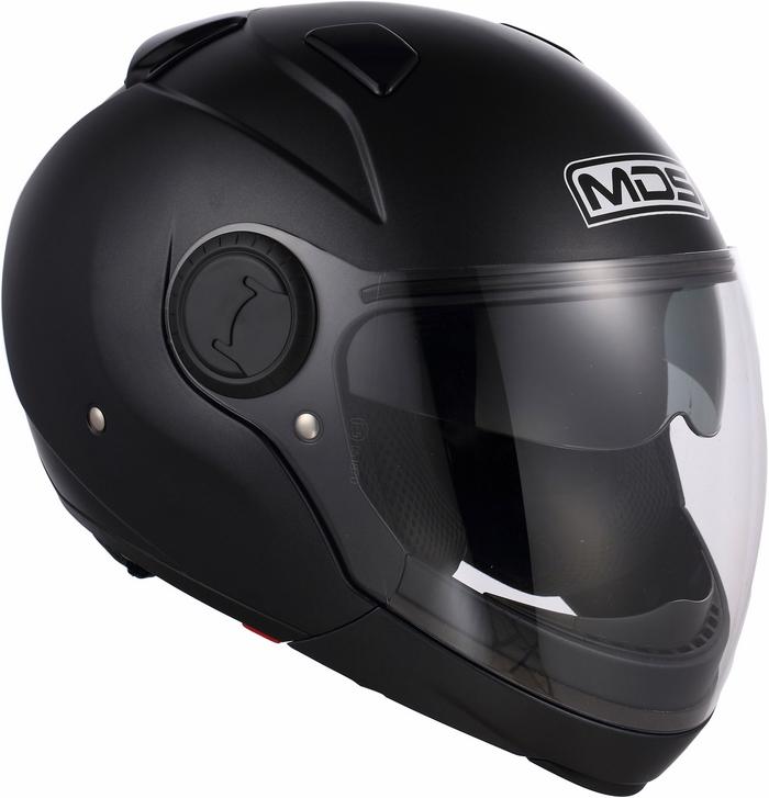 Casco moto Mds by Agv Sunjet Mono nero opaco