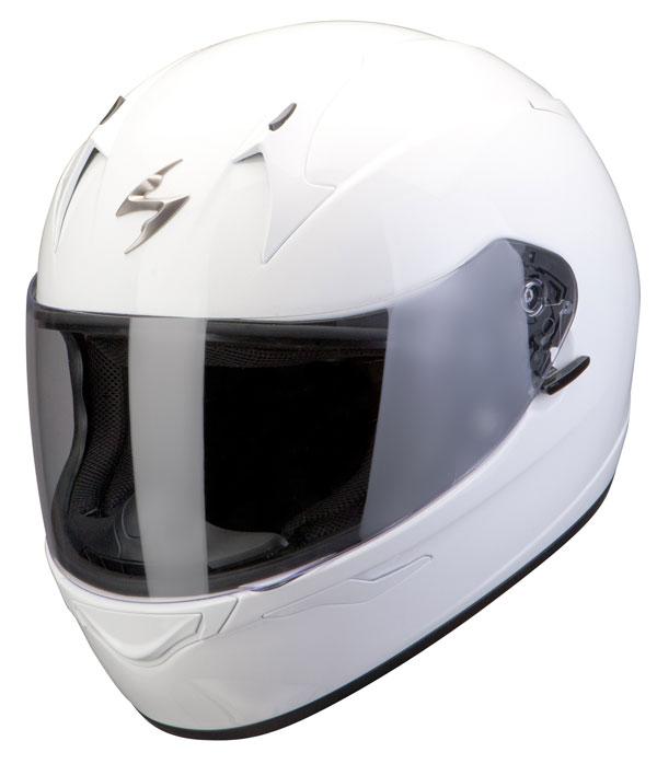 Scorpion Full Face Helmet Exo 410 White