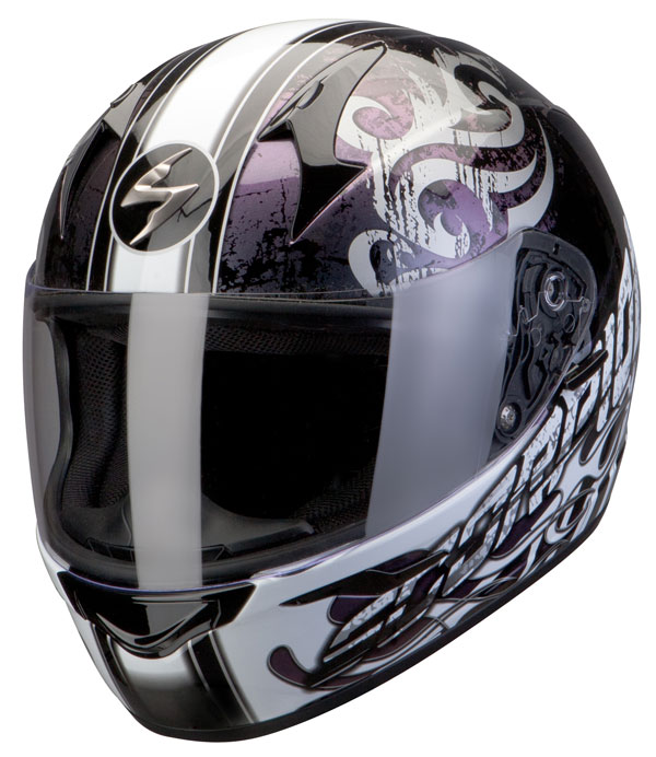 Scorpion Full Face Helmet Exo 410 Sprinter Black Chameleon