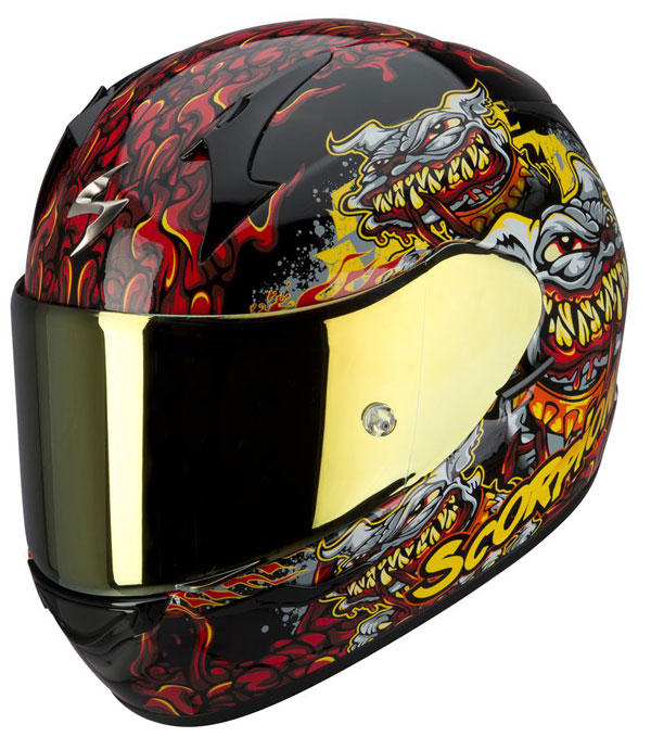 Full face helmet Scorpion EXO 410 Hellhound