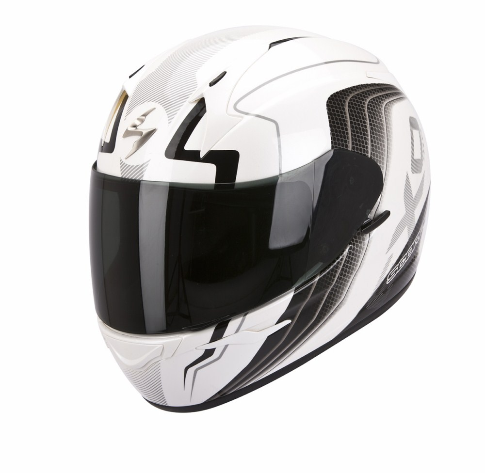 Scorpion Exo 410 Air Altus full face helmet white black