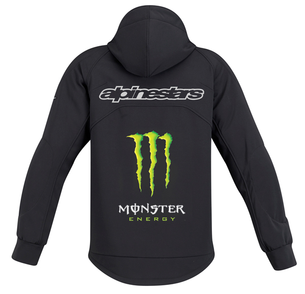 Alpinestars Cloak Tech Fleece Monster Energy black-green