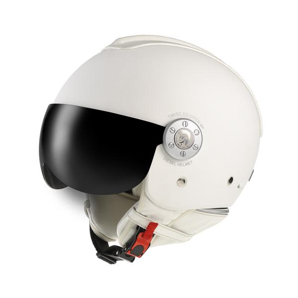 Diesel Mowie jet helmet matt white