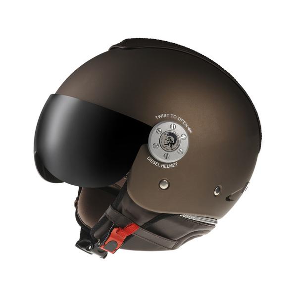 Casco moto Diesel Mowie Mono bronzo opaco