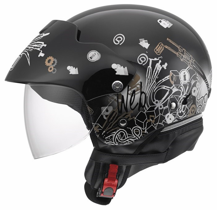 Agv City Bali II Multi Web helmet black