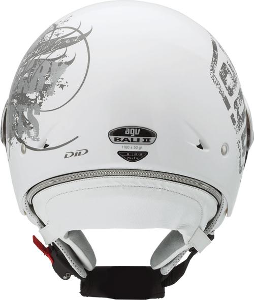 Casco moto Agv Bali II Multi Glamour bianco