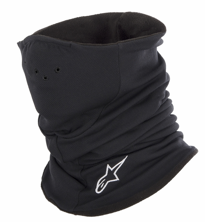 Cylinder Neck Warmer Black Alpinestars Tech