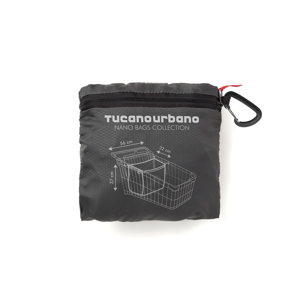 Tucano Urbano Nano Family shopper bag Titanium Black