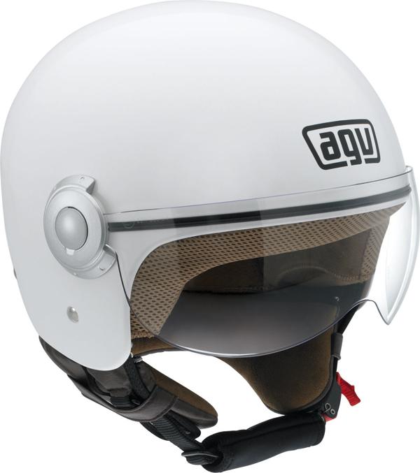 Agv Bali Copter Mono jet helmet white