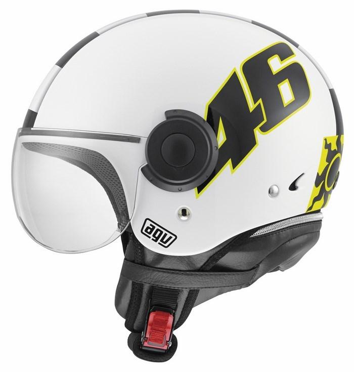 Agv City Bali Copter Top Vale 46 helmet white