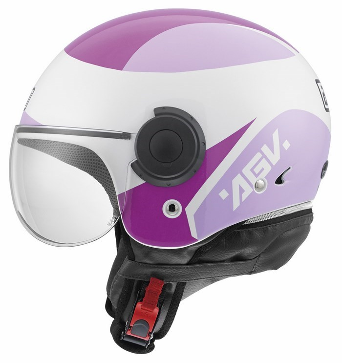 Agv City Bali Copter Multi Visual helmet violet