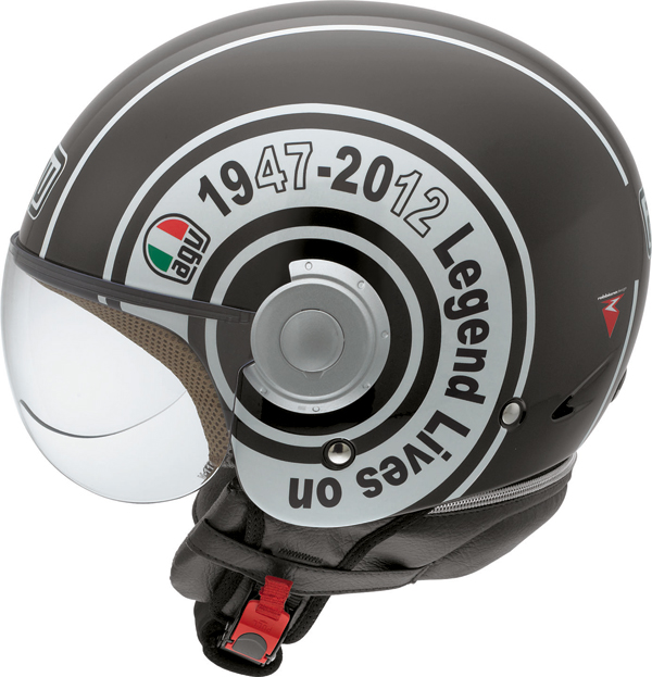Agv Bali Copter Multi Legend jet helmet black