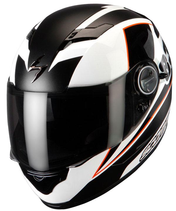 Full face helmet Scorpion Exo 500 Evo White Black