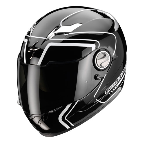 Scorpion Exo 500 Air West full face helmet Black White