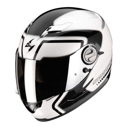 Casco integrale Scorpion Exo 500 Air West Bianco Nero