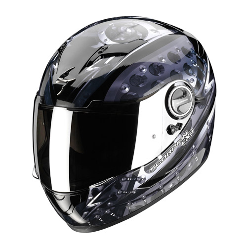 Scorpion Exo 500 Air Robotic full face helmet Black Silver