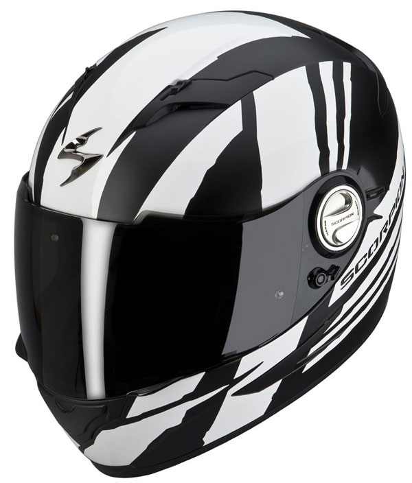 Full face helmet Scorpion EXO 500 Matte Black Thunder Black