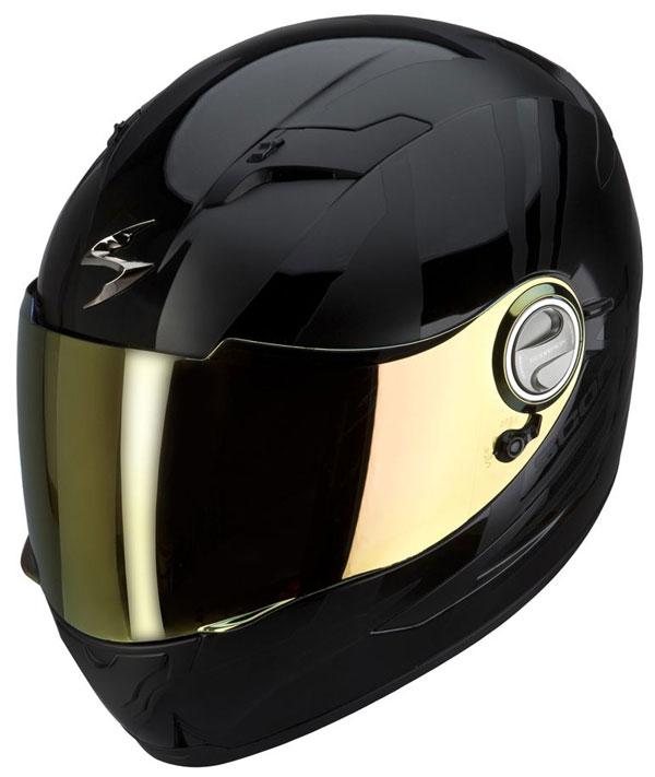 Full face helmet Scorpion EXO 500 Thunder Black gloss and matt