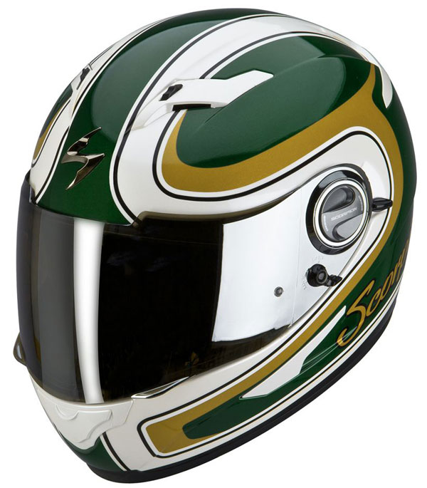 Full face helmet Scorpion EXO 500 Classic Green Gold