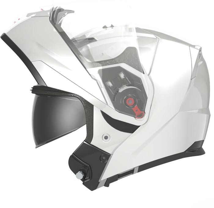 LS2 FF324 Metro flip off helmet matte Black