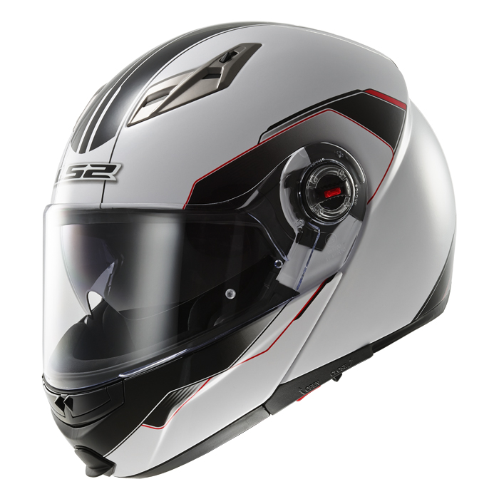 Modular helmet LS2 FF370 Black Shadow