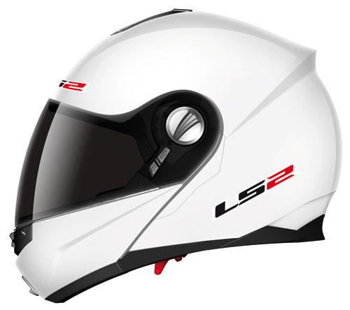 LS2 ff386.1 Ride openface helmet gloss white*