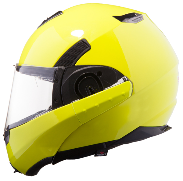 Modular helmet LS2 FF393 Convert fluorescent yellow
