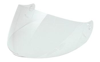 Short visor clear for Scorpion Exo 100