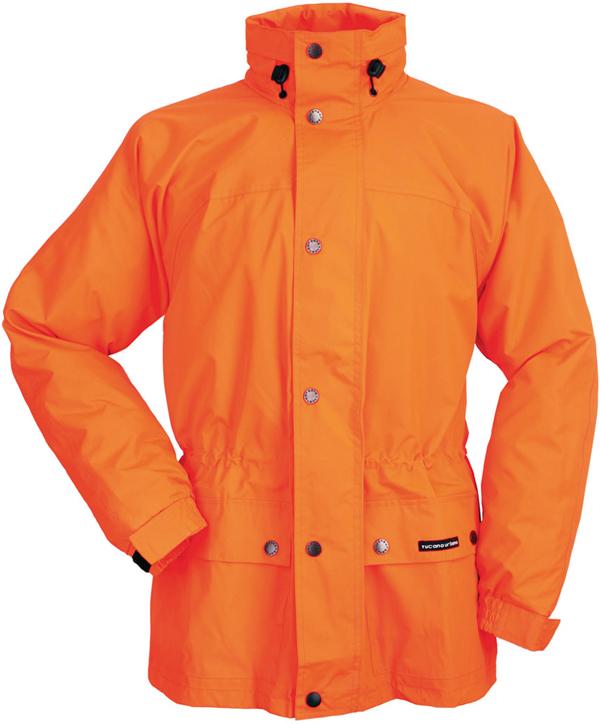 Tucano Urbano Diluvio 537 waterproof jacket orange fluo