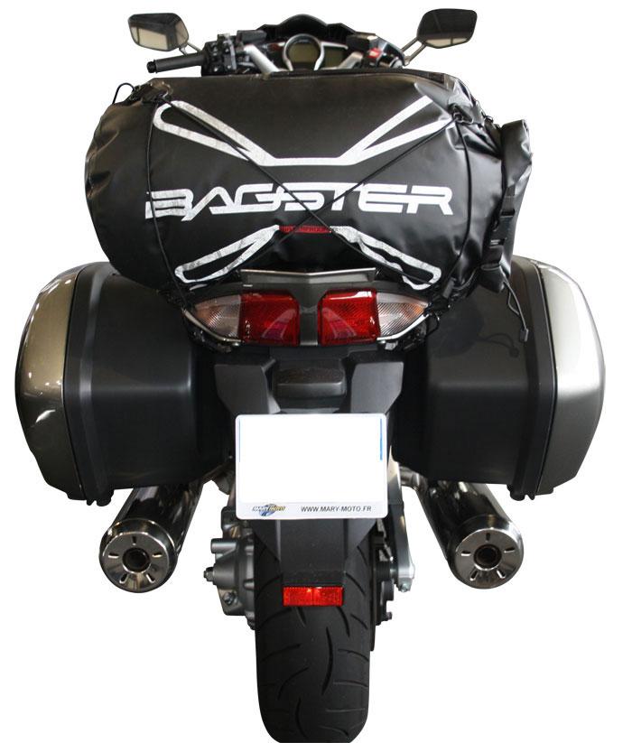 Saddle bag Bagster Everglade 20 liters Black