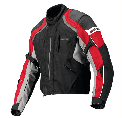 Hy Fly Stealth touring jacket Black Red Anthracyte