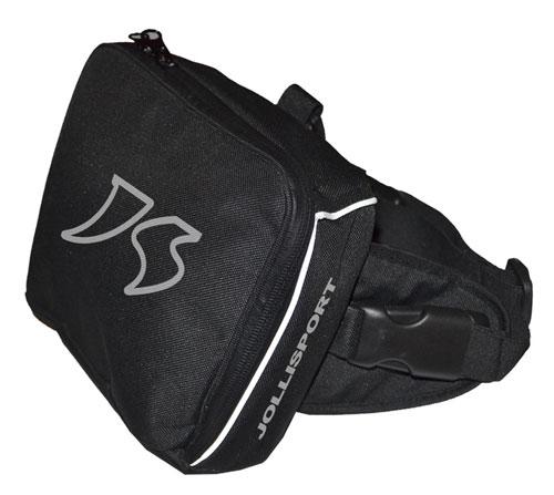 Jollisport Garter leg pouch from black