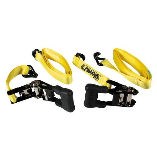 Pro-Safe set 2 nastri tensori con cricchetto 35 mm Lampa