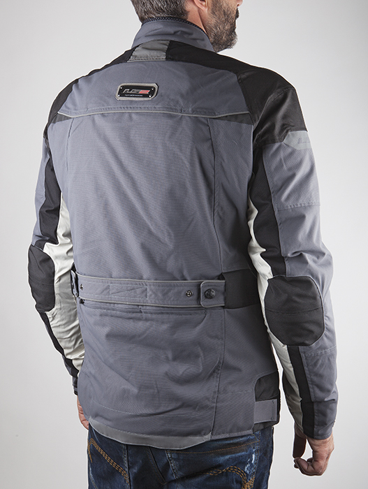 Pacific LS2 Motorcycle Jacket Grey Black