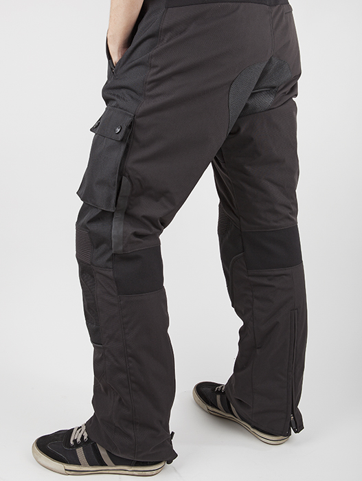 Street LS2 Motorcycle Pants Black