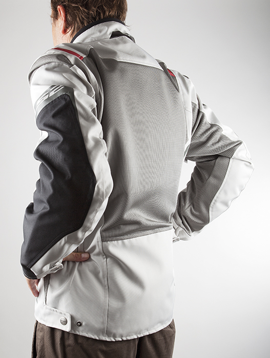 Summer Breeze LS2 Motorcycle Jacket Black Grey