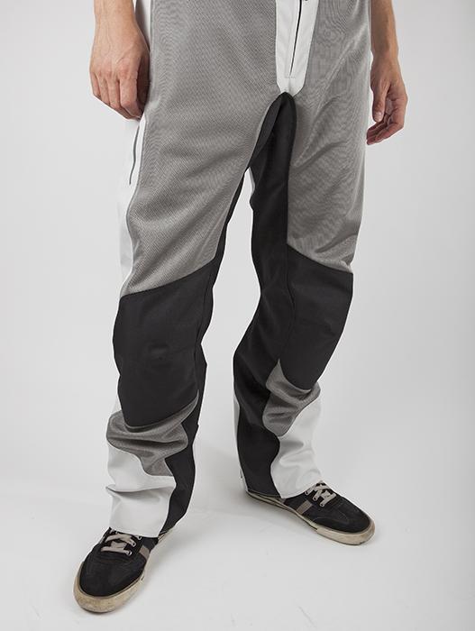 Summer Breeze LS2 Motorcycle Pants Black Grey