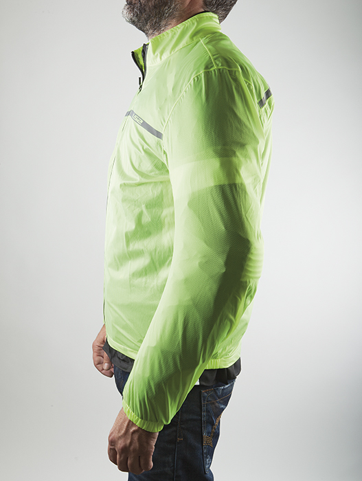 Proof Fluorescent Yellow Raincoat LS2