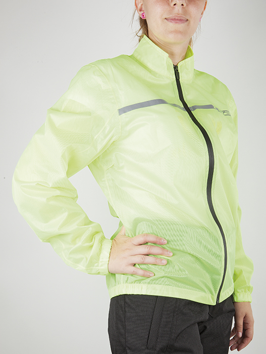 Waterproof jacket woman LS2 Proof Fluorescent Yellow
