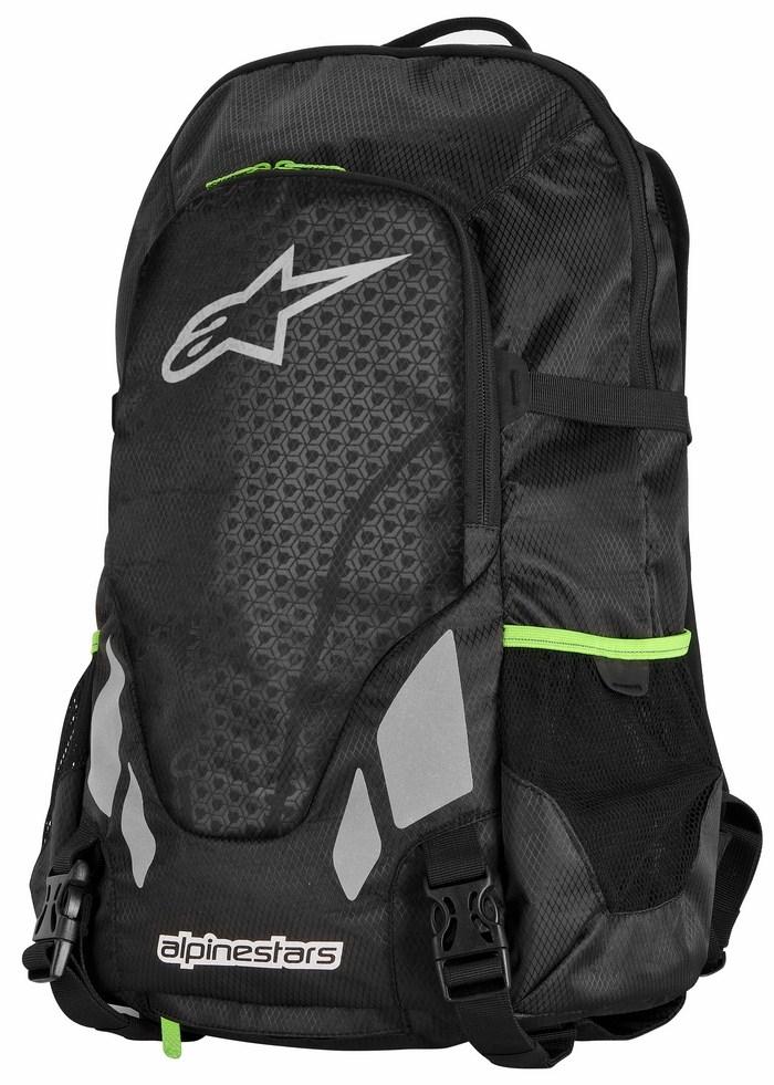Roving Alpinestars Backpack Black Green