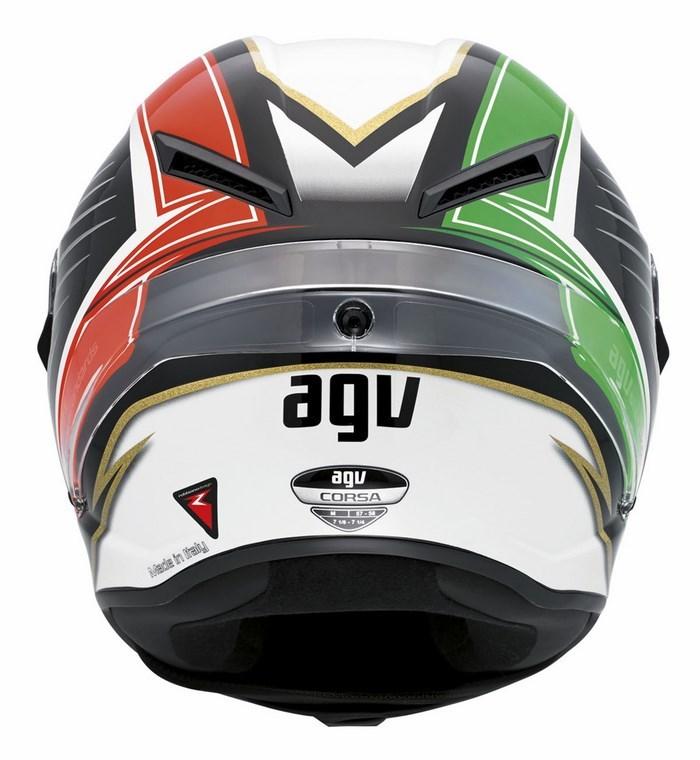 Casco moto Agv Race Corsa Multi Racetrack
