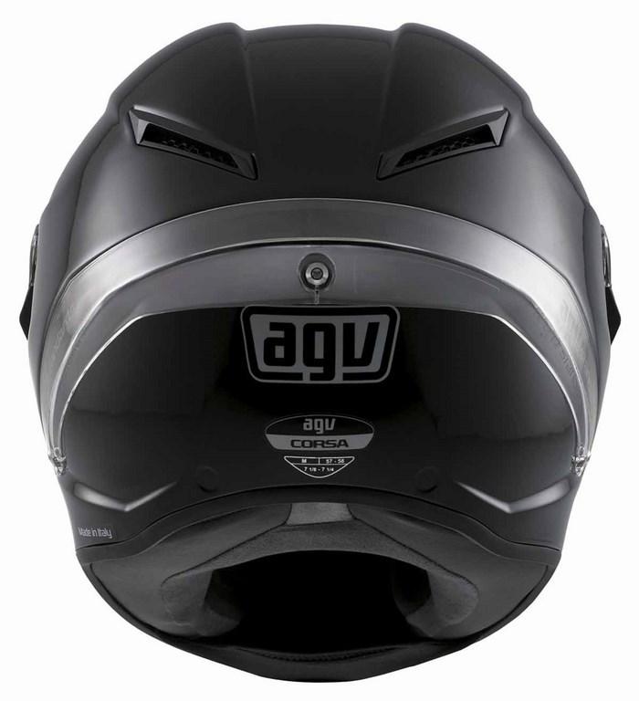 Casco moto Agv Race Corsa Mono nero opaco