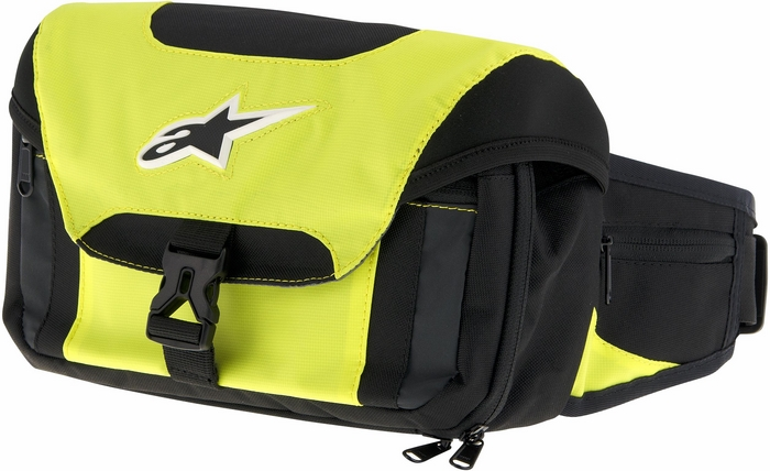 Alpinestars Tech Tool Waist Bag Black Yellow Neon