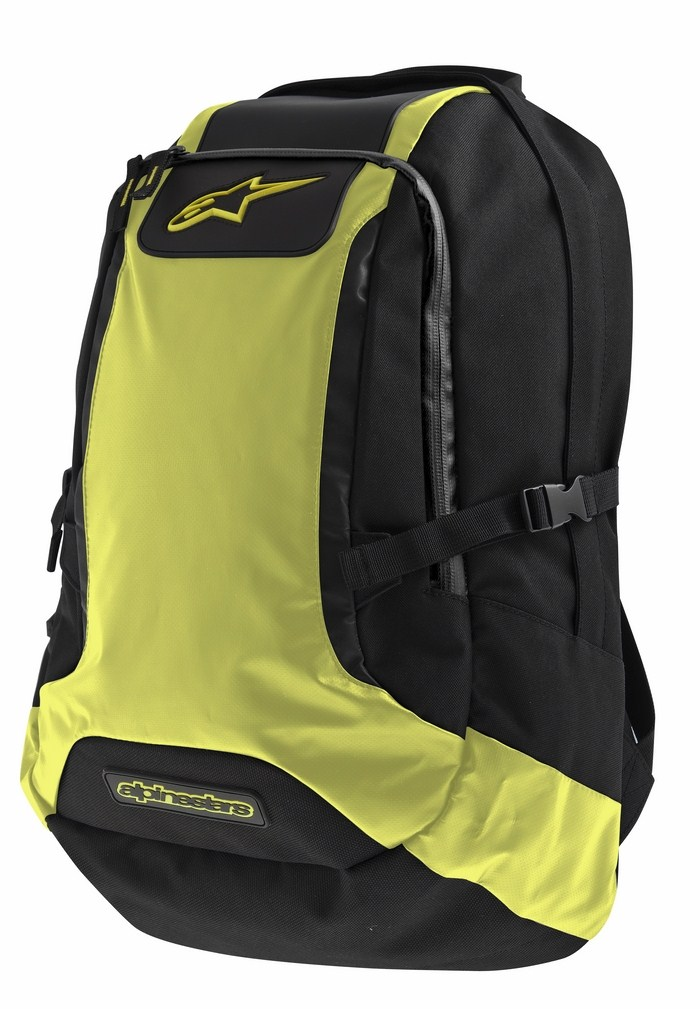 Alpinestars Charger Backpack Black Yellow Neon