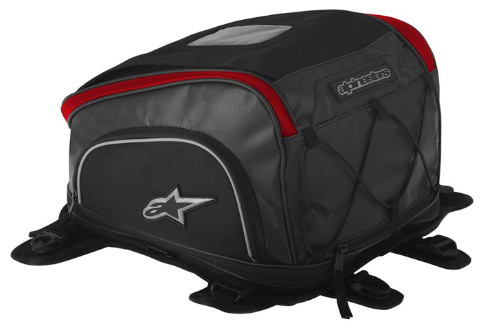 Alpinestars Tech Aero Tank Bag Black Red