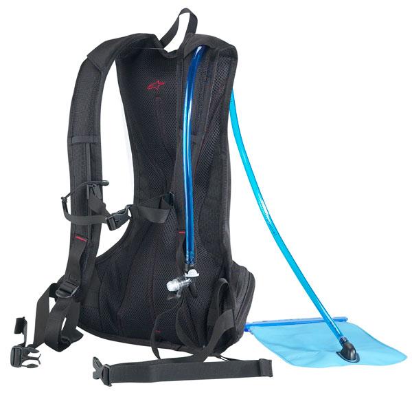 Zaino Alpinestars Hydro Pack con sacca porta liquidi